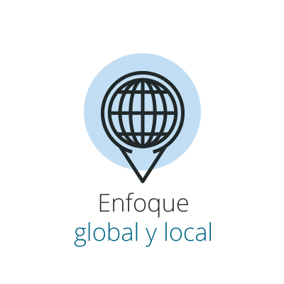 Enfoque global y local